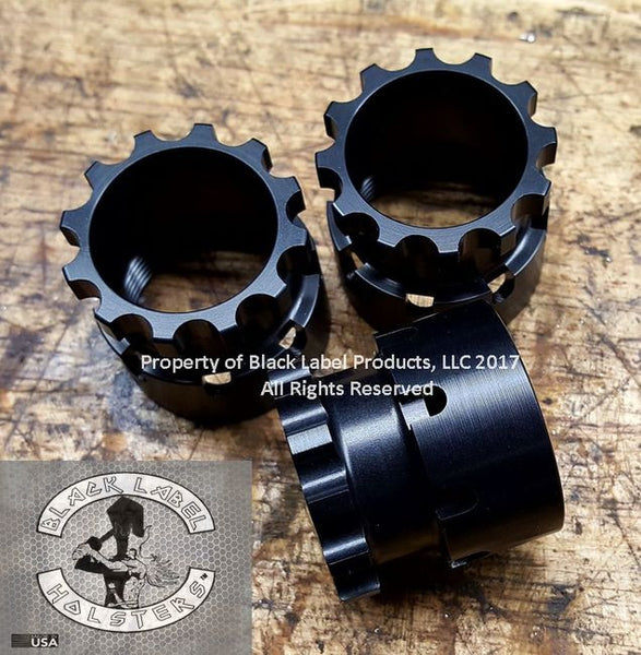 Currently Sold Out- Aluminum Barrel Nut- Fits Bravo Company KMR/KMR-A, MCMR & QRF, Bootleg, PWS & Rebel Arms