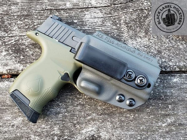 "Mossberg Pistols ""AIWB Rig"" Full Kydex Appendix Holster w/ Adjustable Ride Height and Cant"