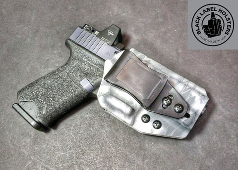 """AIWB Rig"" Full Kydex Appendix Holster w/ Adjustable Ride Height and Cant"