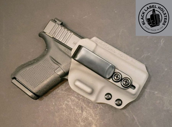 "Smith & Wesson Non-Light Bearing- ""AIWB Rig"" Full Kydex Appendix Holster w/ Adjustable Ride Height and Cant"