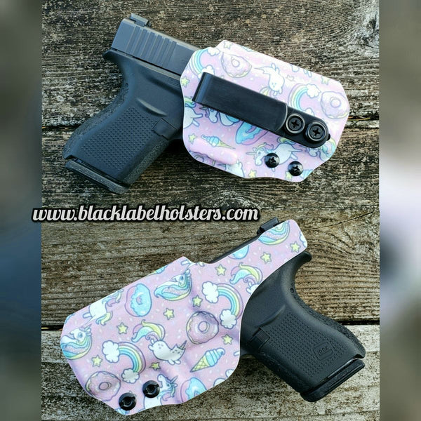 "Springfield Armory ""AIWB Rig"" Full Kydex Appendix Holster w/ Adjustable Ride Height and Cant"