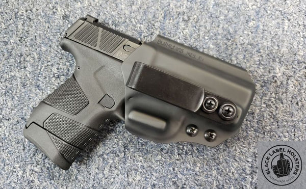 "Sig Sauer P238, P320, P365, P365XL Non-Light Bearing- ""AIWB Rig"" Full Kydex Appendix Holster w/ Adjustable Ride Height and Cant"