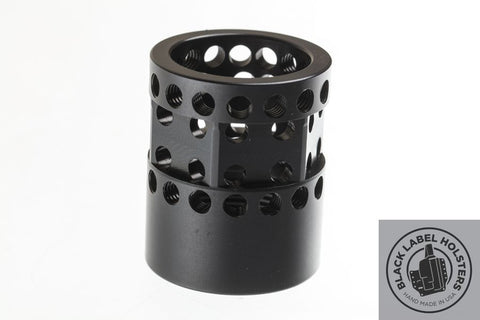 Lightweight 7075-T6 Aluminum Barrel Nut for Noveske NSR, NHR, NQR 5.56/.223/.300BLK Also Fits PSA and others