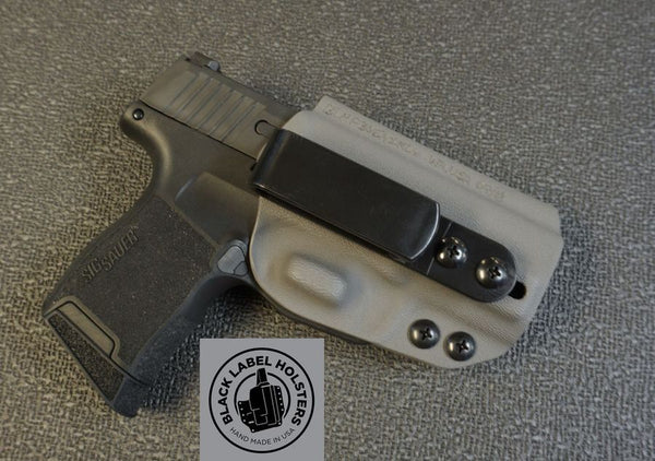 "Icarus ACE-equipped Sig Sauer P320 Variants- ""AIWB Rig"" Full Kydex Appendix Holster w/ Adjustable Ride Height and Cant"