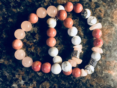 Soul-Love Attraction®️Crystal Bracelet Stack
