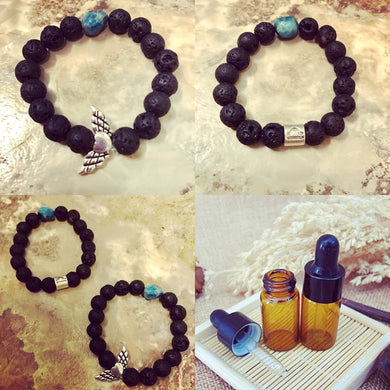 Emotional Support Bracelet with Comforting Oil Blend