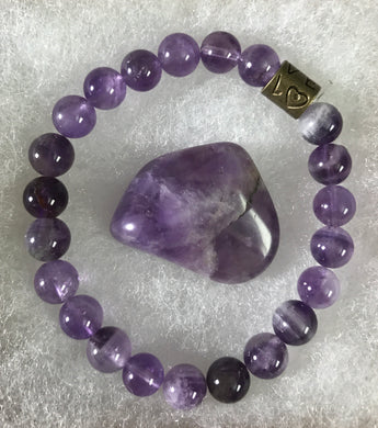 The Amethyst Healer - Peace & Protection Bracelet