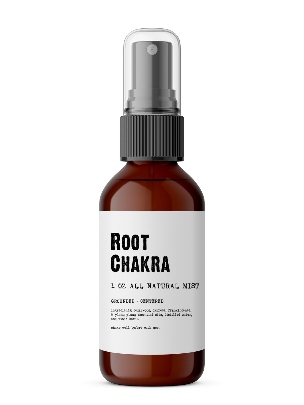 Root Chakra - Meditation/Body Mist - Made with All Natural Ingredients