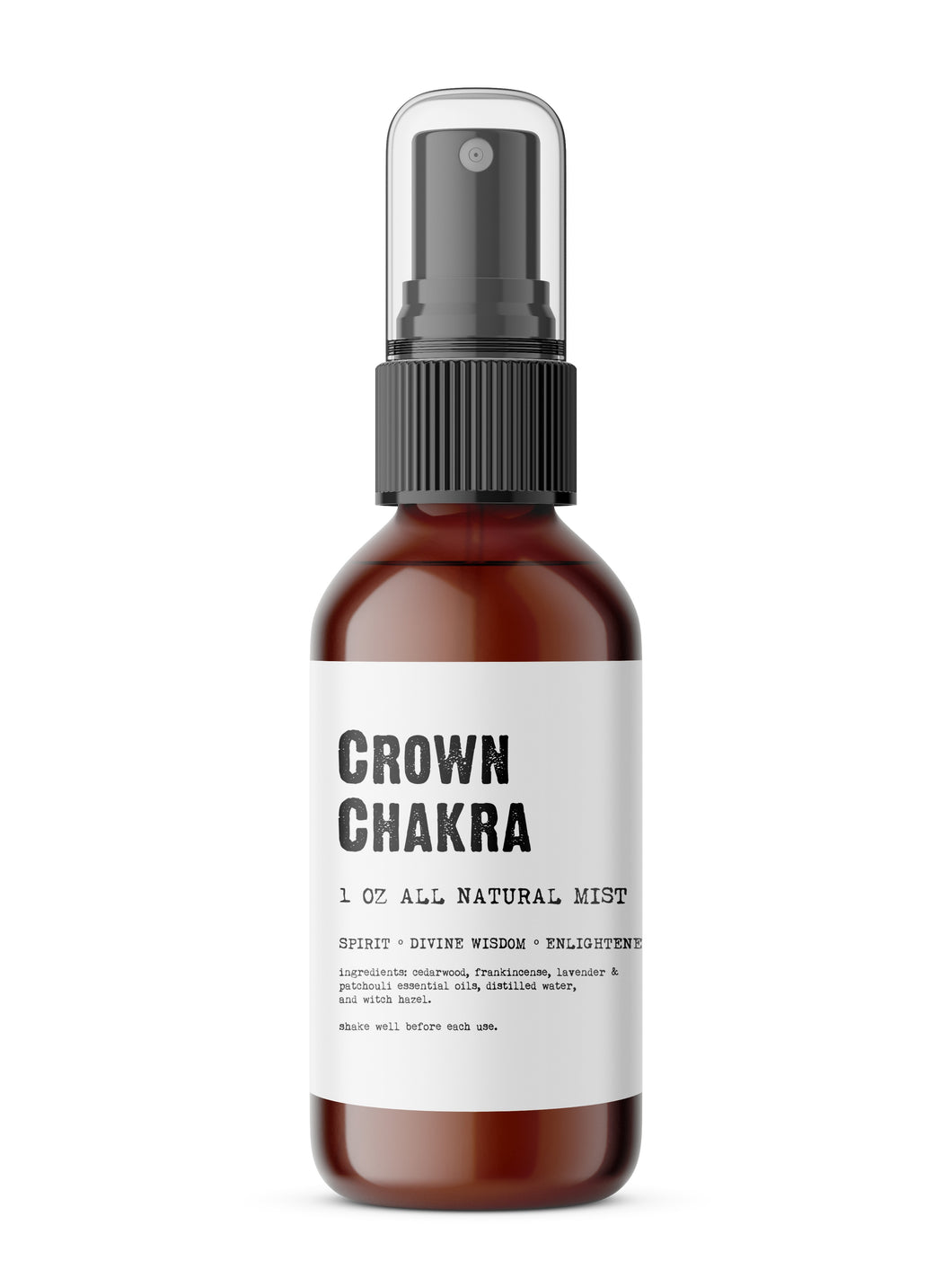 Crown Chakra - Meditation/Body Mist - Made with All Natural Ingredients