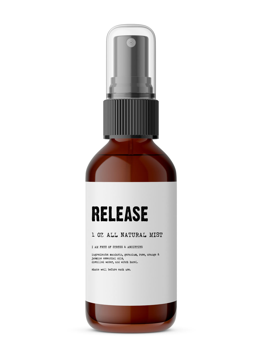 Release - Meditation/Body Mist - Made with All Natural Ingredients