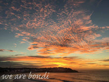 Bondi Red Sunrise