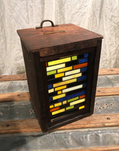 Stained Glass Lightbox - D