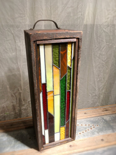 Stained Glass Lightbox - J
