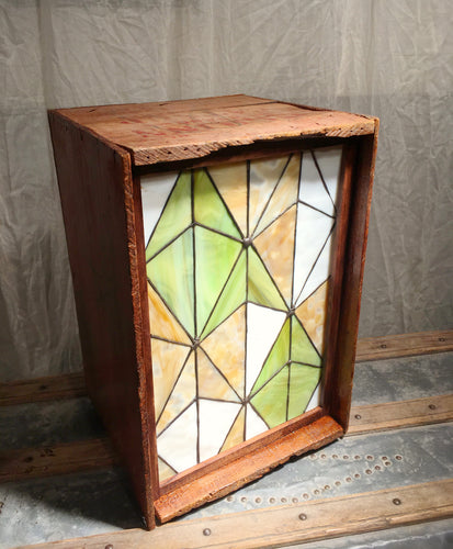 Stained Glass Lightbox - O