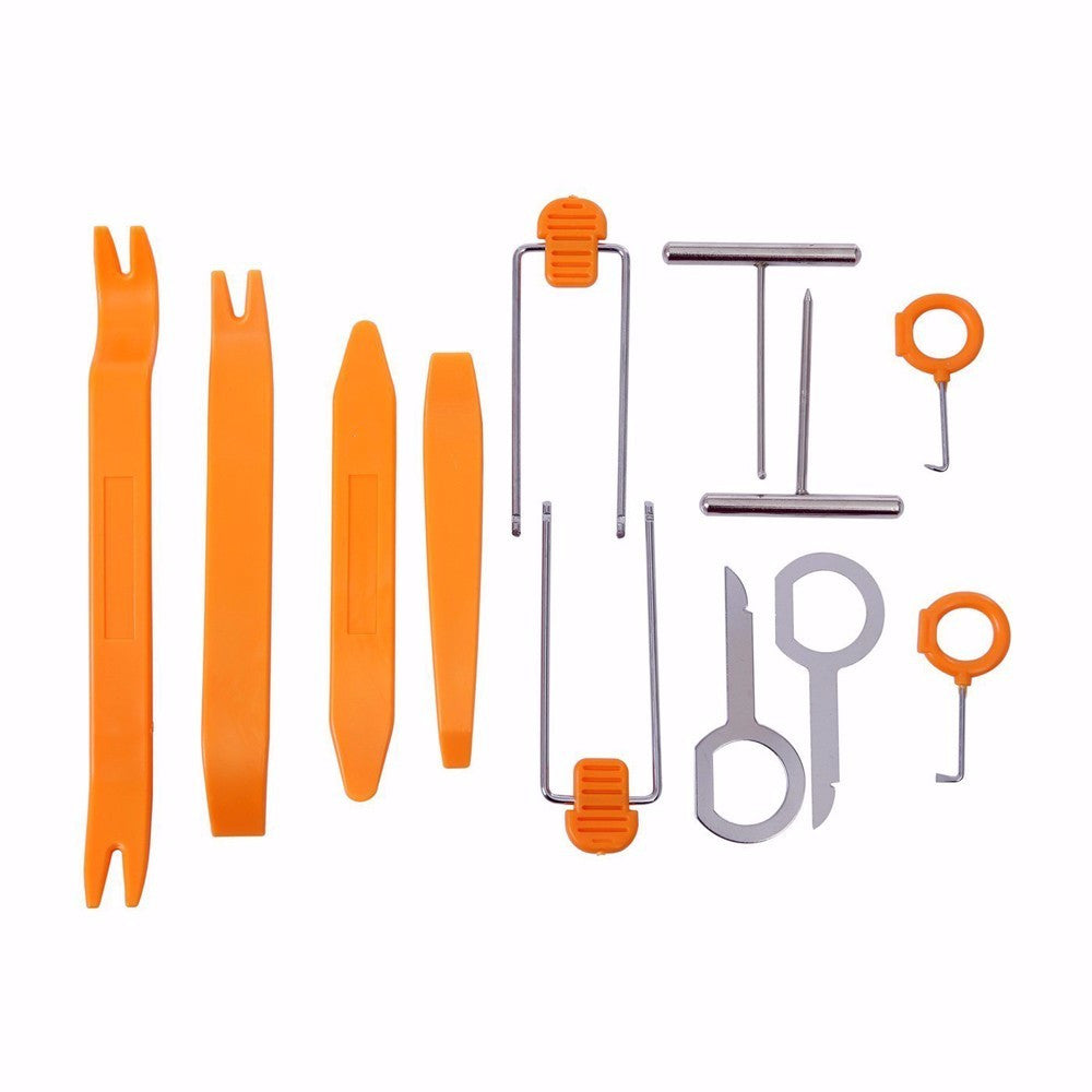 Automotive Interior Trim Tool Set and Much More ! Radio Panel Removal  Tools, Pump Wedge for Lock Outs, Automotive Locksmith Tools