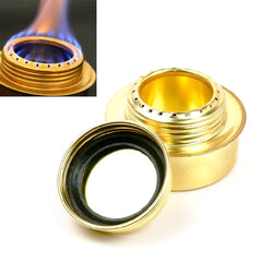 Portable Copper Alcohol Stove for Outdoor Camping