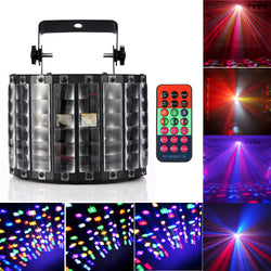 High Quality  Butterfly Stage Light with Remote Control Disco Party DJ Projector