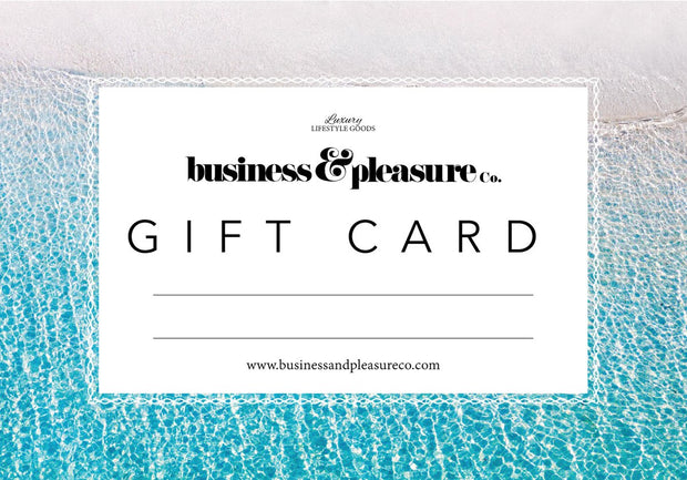 Gift Card - Business & Pleasure Co