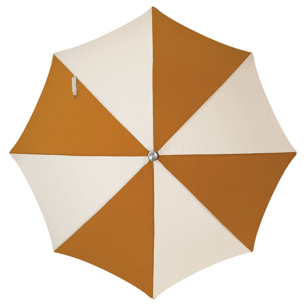 The Premium Beach Umbrella - 70's Panel Gold