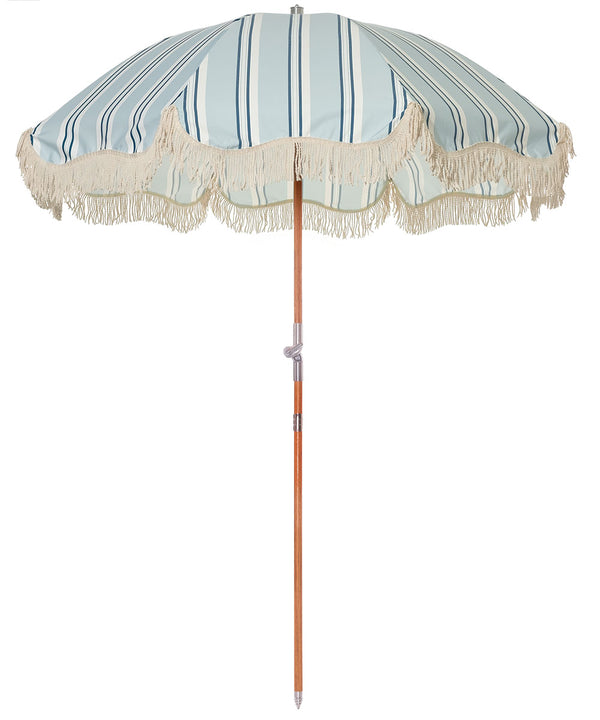 The Premium Beach Umbrella - OKL Beach Stripe