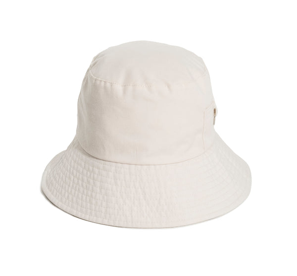 THE BUCKET HAT - ANTIQUE WHITE
