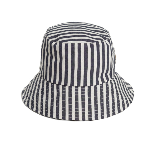 THE BUCKET HAT - LAURENS NAVY STRIPE