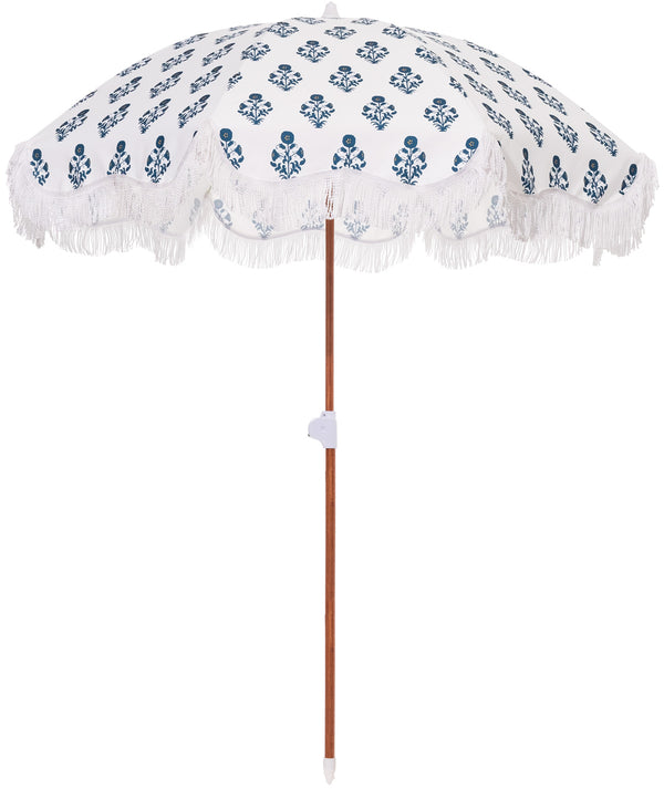 The Holiday Beach Umbrella - OKL Indian Block Print