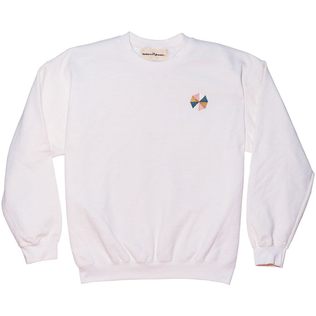 The Cinque Sweatshirt - Antique White - Business & Pleasure Co