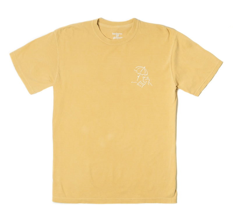 The Basque Tee - Vintage Yellow - Business & Pleasure Co