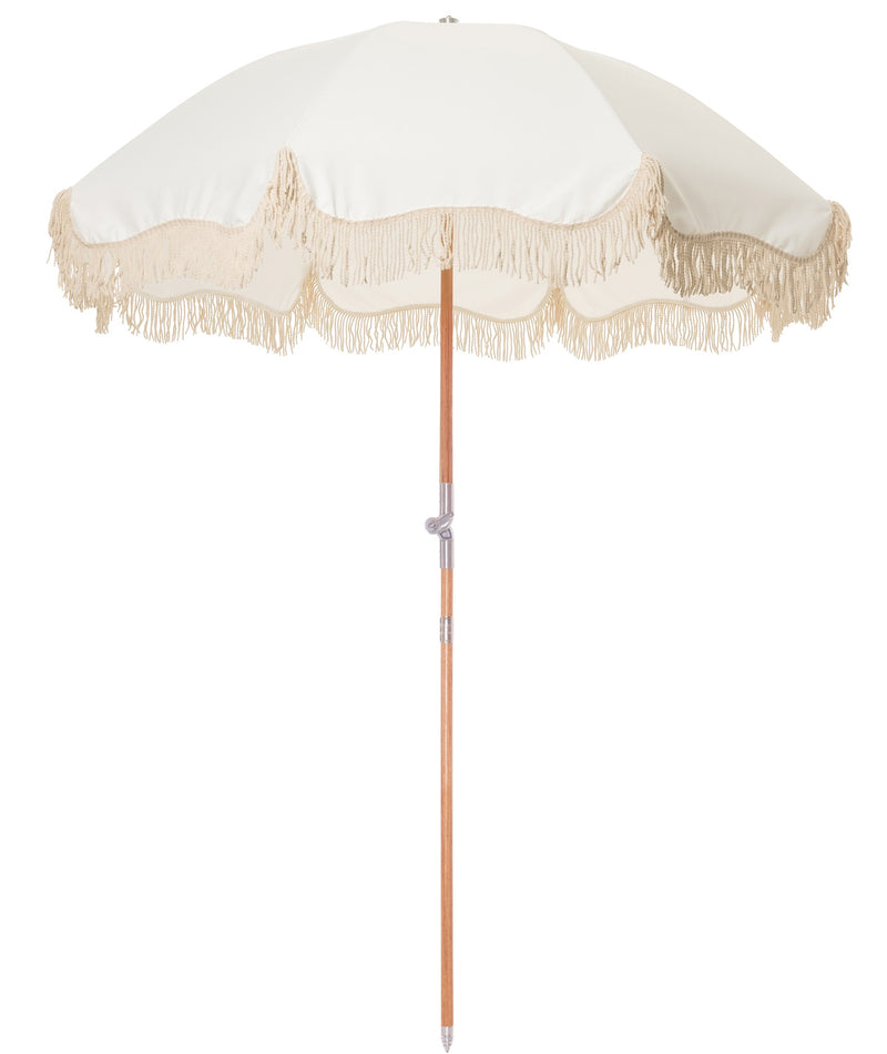 The Premium Beach Umbrella - Antique White - Business & Pleasure Co