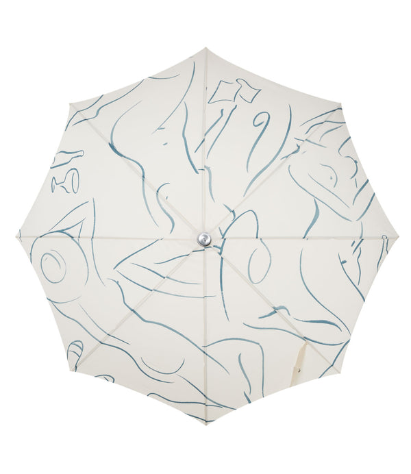 The Premium Beach Umbrella - Le Basque Figure - Business & Pleasure Co