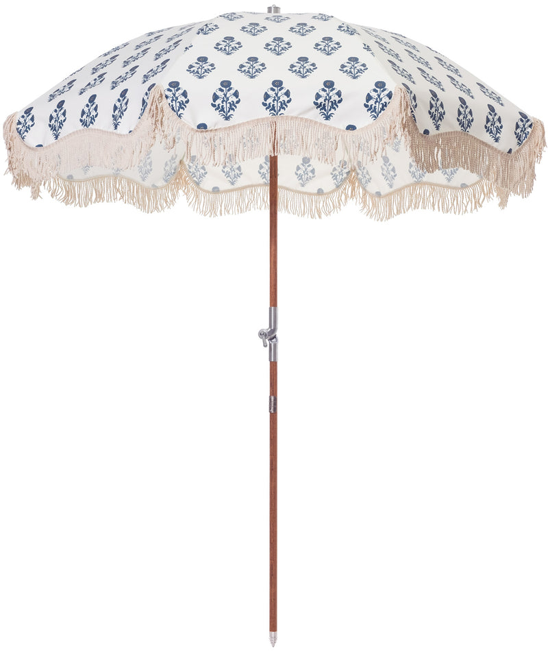 The Premium Beach Umbrella - OKL Indian Block Print