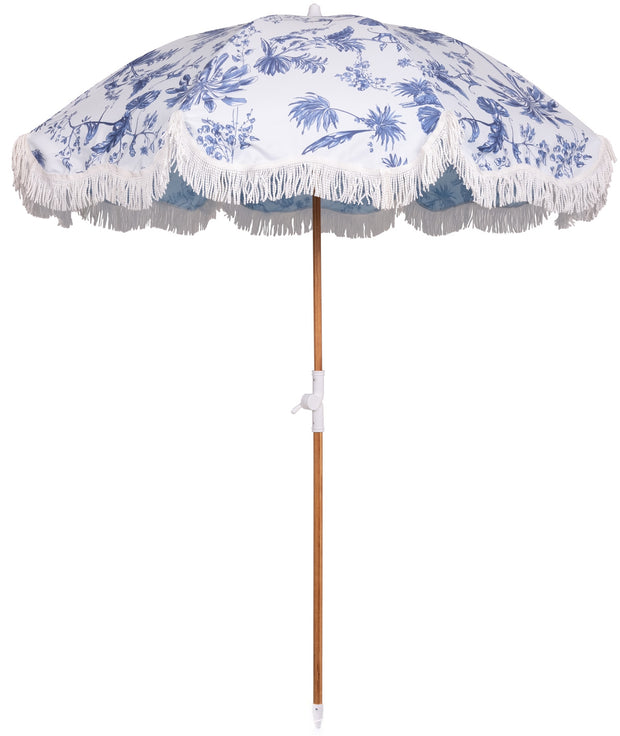 The Holiday Beach Umbrella - Chinoiserie - Business & Pleasure Co