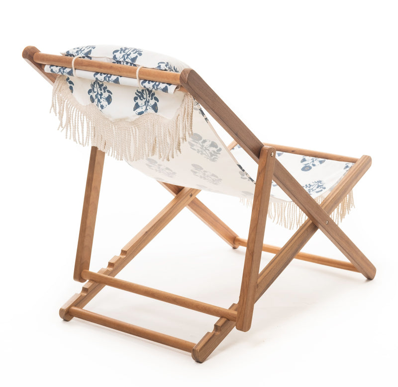 The Sling Chair - OKL Indian Block Print