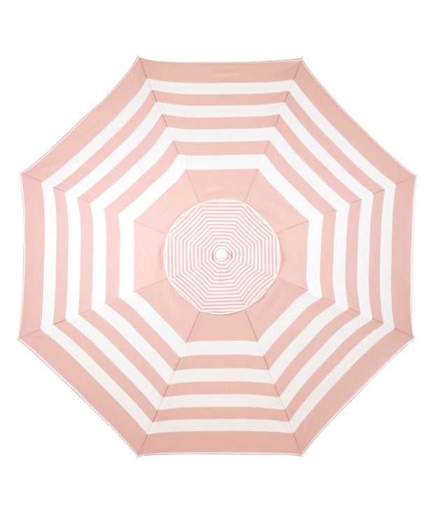 The Family XL Beach Umbrella - Pink Stripe - Business & Pleasure Co