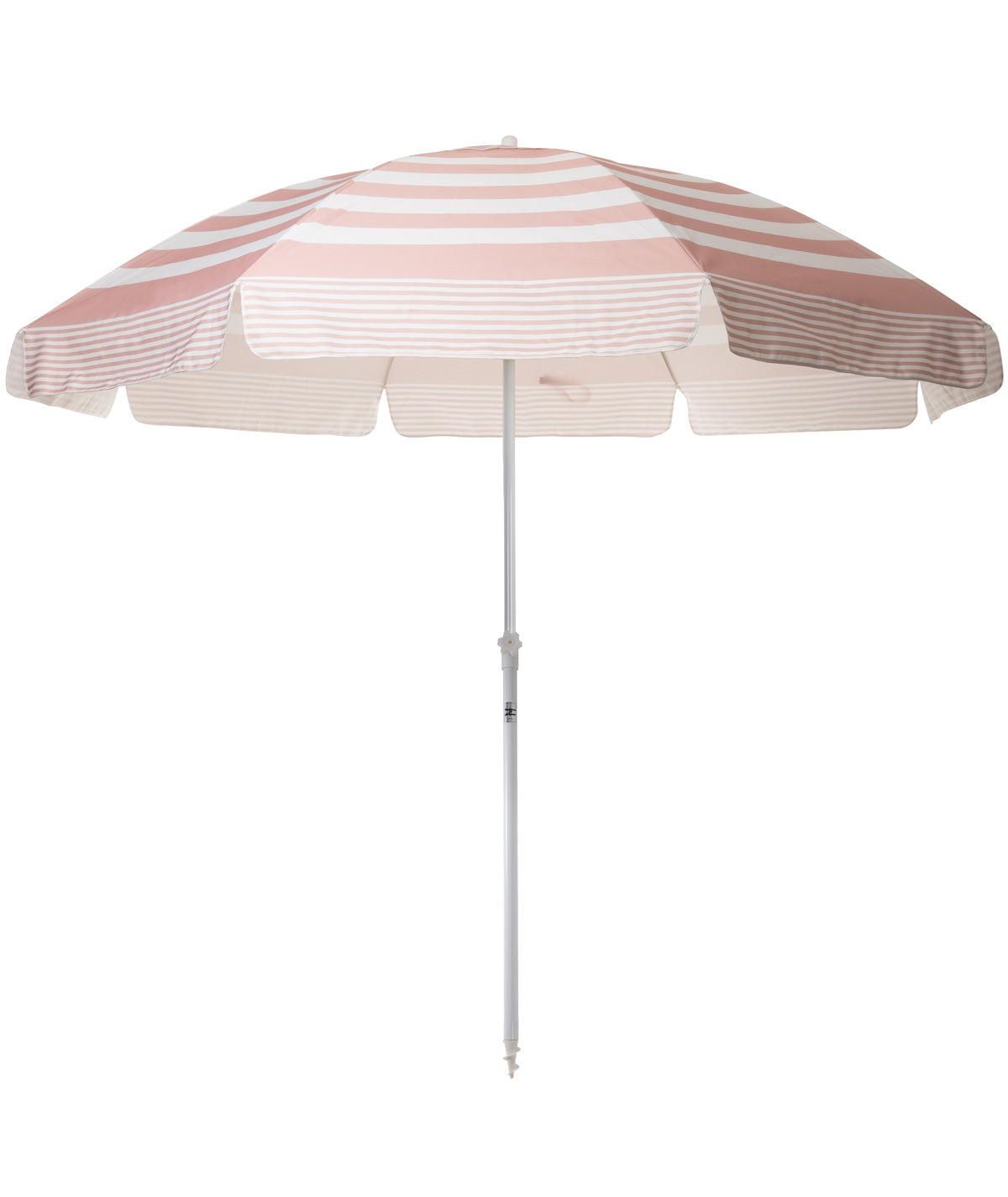 Pink Stripe Family XL Beach Umbrella - Business & Pleasure Co