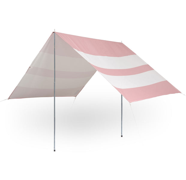 The Holiday Beach Tent - Pink Stripe - Business & Pleasure Co