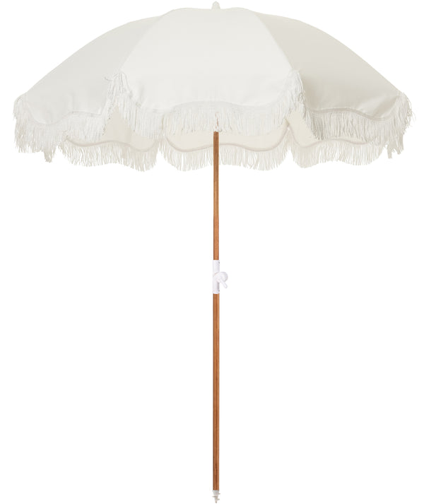 The Holiday Beach Umbrella - Antique White - Business & Pleasure Co