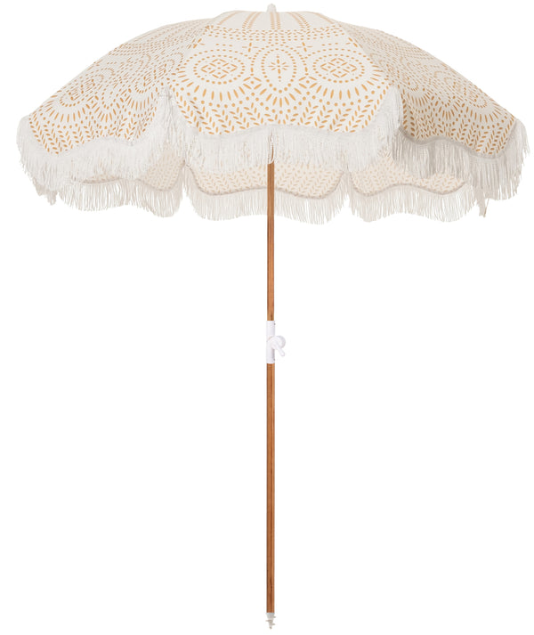 The Holiday Beach Umbrella - Eyelet - Business & Pleasure Co