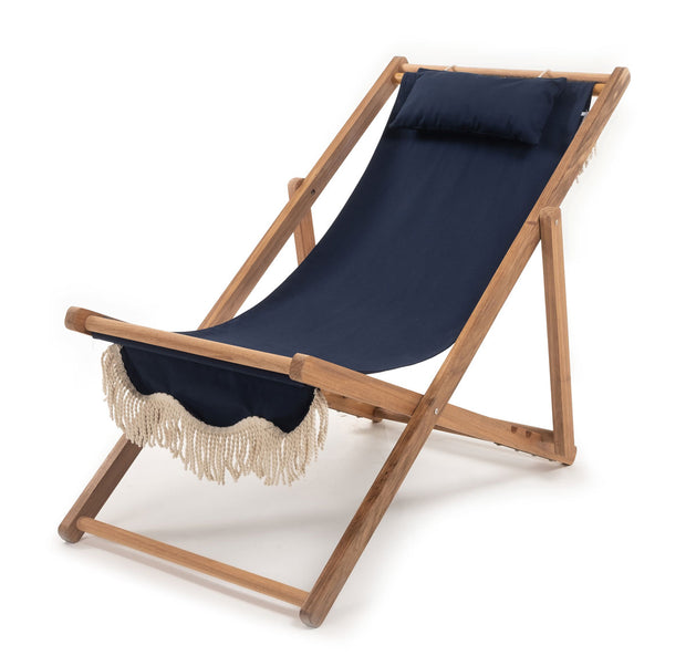 The Sling Chair - Boathouse Navy - Business & Pleasure Co