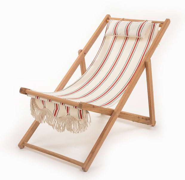 Sling Chair - French Stripe - Business & Pleasure Co