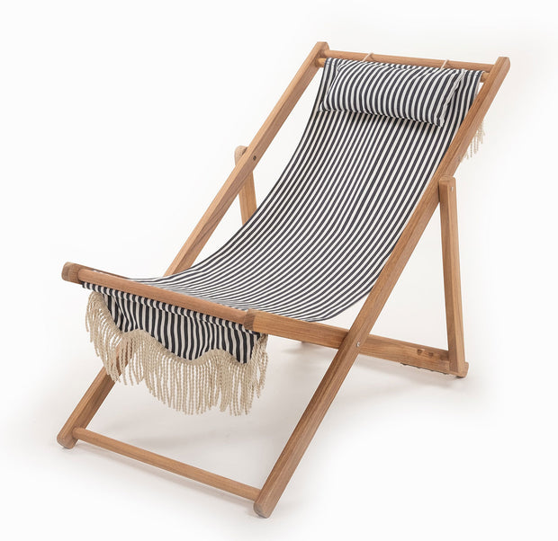 Sling Chair - Lauren's Navy Stripe - Business & Pleasure Co