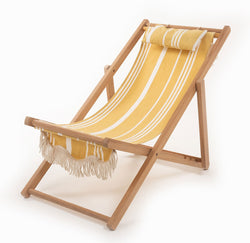 The Sling Chair - Vintage Yellow Stripe - Business & Pleasure Co