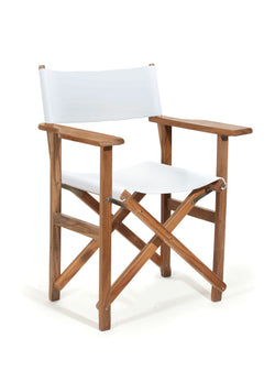 The Directors Chair - Table Height - Antique White