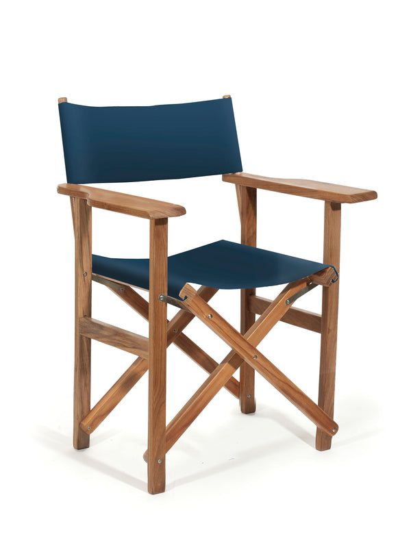 The Directors Chair - Table Height - Atlantic Blue