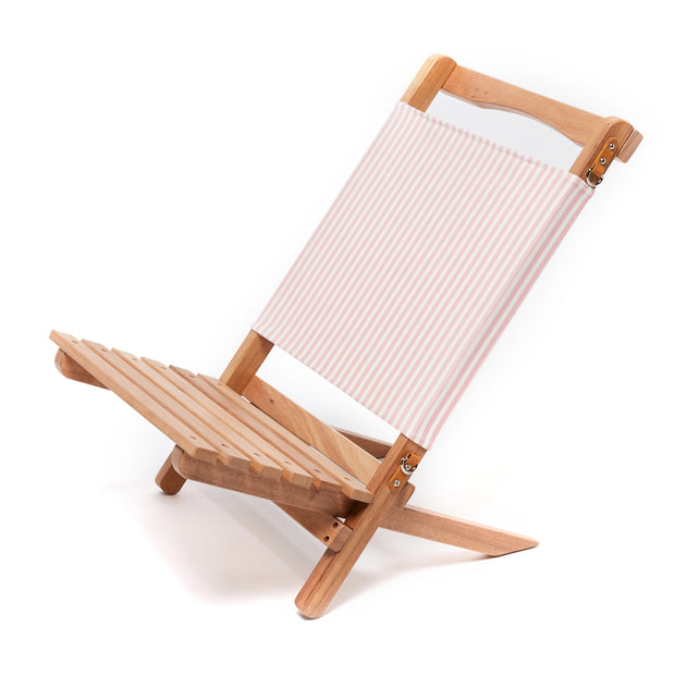 The 2-Piece Chair - Lauren's Pink Stripe - Business & Pleasure Co