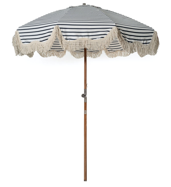 The Patio Umbrella - Lido Stripe Horizontal