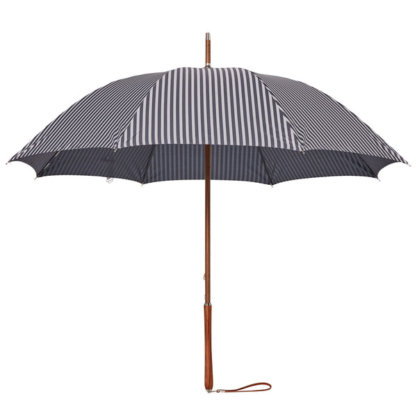 Rain Umbrella - Lauren's Navy Stripe