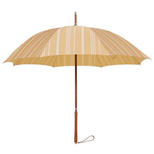 Rain Umbrella - Vintage Yellow Stripe