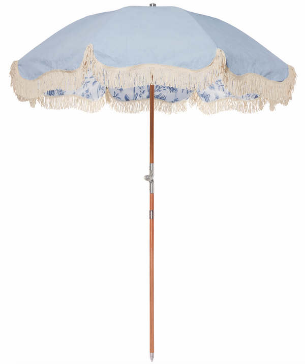 The Premium Beach Umbrella - Chinoiserie